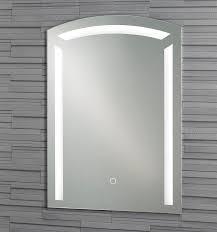 Illuminated Bathroom Mirror by Wall Mounted