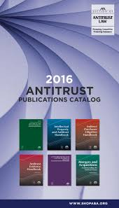 2016 antitrust publications catalog by american bar association