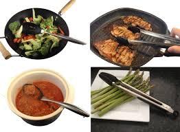 ustensil cuisine stainless steel utensil set checkered chef