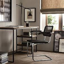 Small Desk With Bookcase Desktop Notebook Computer Tables Wrought Iron Wood Small Desk