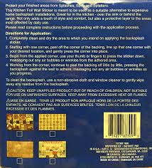 What Is A Backsplash In Kitchen Amazon Com Fat Happy Chef Foil Backsplash Wall Sticker Window