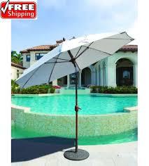 Tilting Patio Umbrella by Best Selection Tilt Patio Umbrellas Galtech 9 Ft Manual Tilt