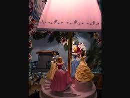 disney princess animated lamp youtube