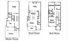 Skinny Houses Floor Plans Tall Houses Plans U2013 Home Style Ideas