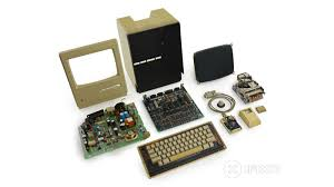 macintosh 128k teardown a time capsule with keyboard and mouse