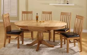 solid oak round dining table 6 chairs solid oak extending dining table and 6 chairs yoadvice com