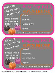 freebie fall open house invites set up your parties to feature