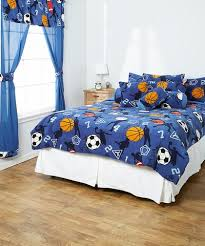 Sports Themed Comforters 5 Piece Embroidered Comforter Set Assorted Styles In King And