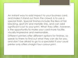 How To Design Your Business Card How To Design A Business Card