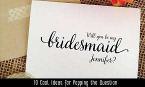 bridesmaid asking cards 10 pretty will you be my bridesmaid ideas aisle