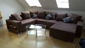 couch u form gebraucht u form couch mit schlaffunktion couchtisch in 85375