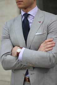 what color shirt with light grey suit pin dot pocket square in navy lavender shirt pocket squares and
