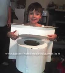 Halloween Costumes Coolest Homemade Toilet Costume Toilet Halloween Costumes