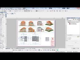 software design layout rumah panduan archicad 9 cara setting layout a1 youtube