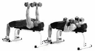 How To Do Dumbbell Bench Press Dumbbell Exercises To Beef Up Your Triceps Men U0027s Health Singapore