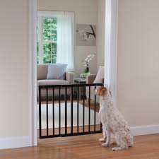 top of stairs décor swing gate espresso gates