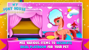 decorate home games my pony house u2013 pet home games android apps on google play
