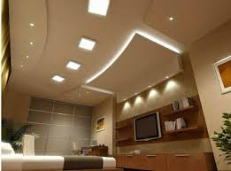 Luxury False Ceiling Designs Made Of PVC Gypsum Board And Wood - Modern ceiling designs for living room