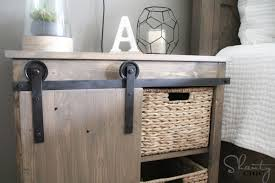 How To Build An End Table Video by Diy Barn Door Hardware For 20 Shanty 2 Chic