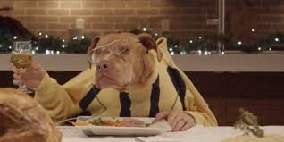 dogs at dinner table polite shelter pets at christmas dinner may put your table manners