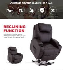 Leather Recliners South Africa Power Lift Chair Real Leather Recliner Armchair Wall Hugger Lounge