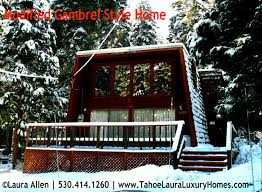 a frame style house gambrel style home lake tahoe great option mountain house plans