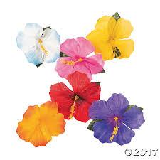 decorative hibiscus flowers