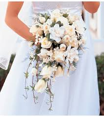 wedding flowers wi white cascade bridal bouquet in wi felly s flowers