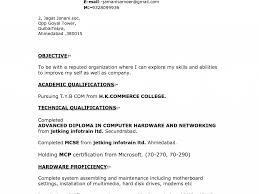 Resume Samples Bcom Freshers by Resume For Bcom Freshers Format Best 25 Resume Format Examples