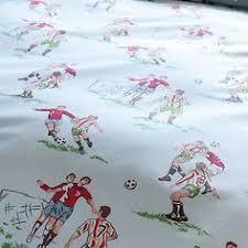 Cath Kidston Single Duvet Cover Cath Kidston Footie Football Bedding Set Ebay Boys Bedroom