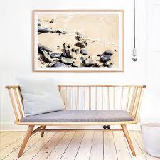 Home Interior Framed Art Beach Rocks Ii Photo Print U2013 Clair Estelle