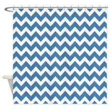 navy blue grey white chevron shower curtain blue grey navy and