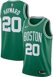 nike men u0027s boston celtics gordon hayward 20 kelly green dri fit
