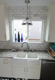 DIY Hampton Carrara Polished Kitchen Backsplash Hometalk - Carrara backsplash