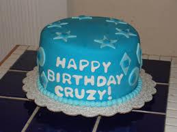 blue fondant mens birthday cake cakecentral com