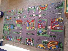 Kids Street Rug by Rug With Roads For Toy Cars Roselawnlutheran