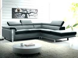 canapé blanc design canap design en cuir best canap panoramique cuir carolina with