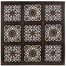 benzara modern wood wall panel with finish 36