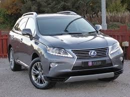 lexus cvt used lexus rx 450h suv 3 5 luxury station wagon cvt 4x4 5dr in