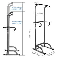 70 Home Gym Design Ideas Amazon Com Ancheer Adjustable Power Tower For Home Gym Sports