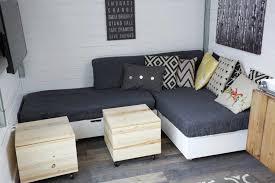 Diy Sofa Bed White Lift Top Storage Sofa Sectional Seating Bases Diy