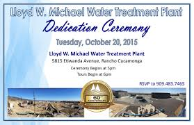 dedication invitation cucamonga valley water district official website