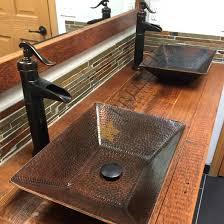 copper vessel sinks ebay copper vessel sink round hand forged old world sinks givgiv