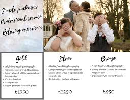Wedding Photography Packages Investment U2014 Photographvie