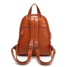 designer rucksack damen kaufen vintage casual neue stil leder schultaschen hohe qualität