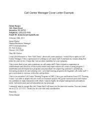 Best Solutions Of Cover Letter Best Solutions Of Example Of Cover Letter For Call Centre Job In