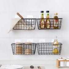 cuisines rangements bains cuisine assaisonnement panier suspendu panier de rangement de bureau