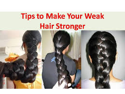 how to make hair strong get thicker hair naturally make your weak hair stronger how to
