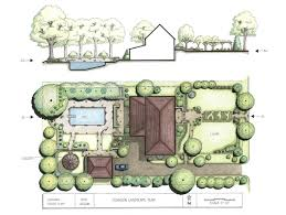 landscape awesome landscape plans landscape planning pdf draw