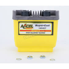 accel yellow hei super coil kit for h d 80 03 w electronic